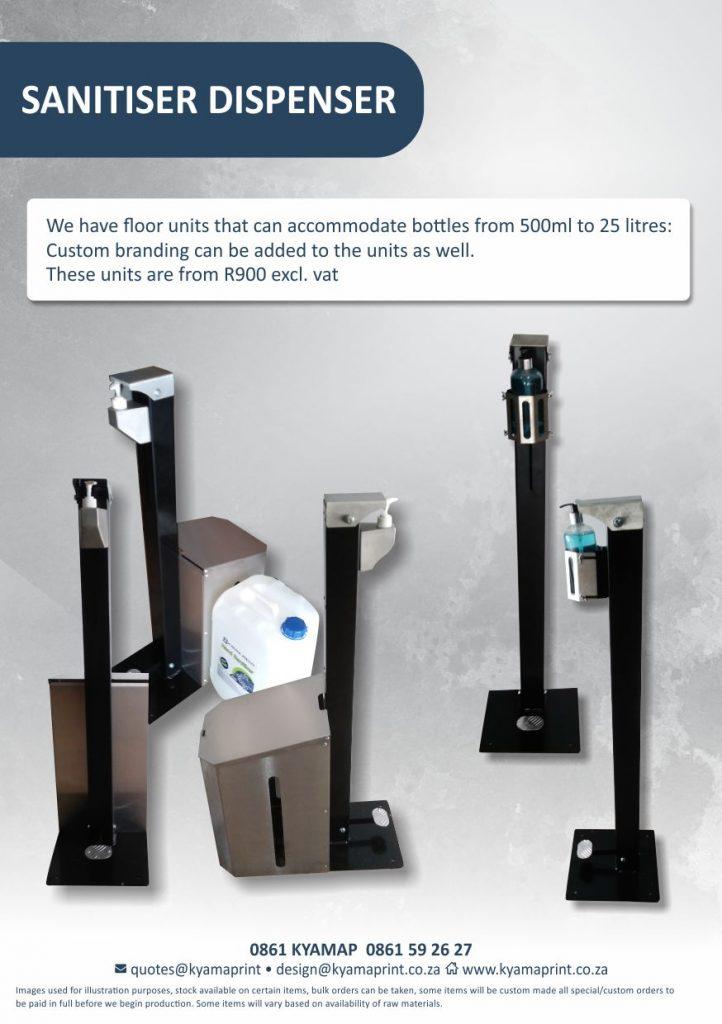 Kyama Print - Sanitiser Dispenser